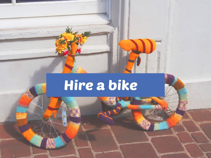 hire a bike tab