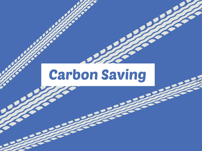 carbon saving tab