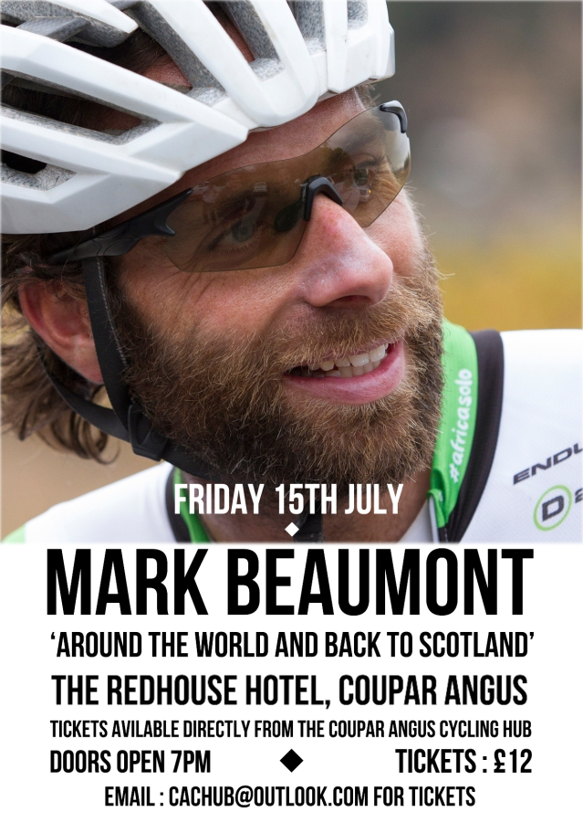 Mark Beaumont poster