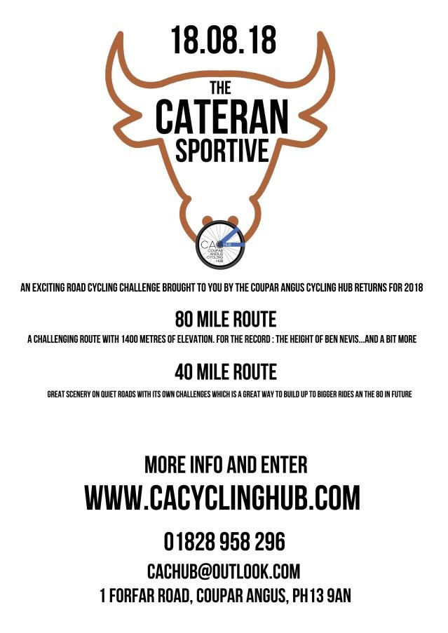 cateran sportive 2018 poster